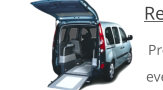 wheelchair accessible renault kangoos and smaller wheelchair vehicles